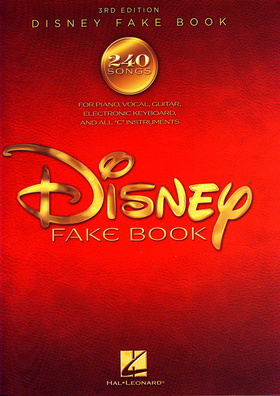 Hal Leonard  disney Fakebook 3rd Edition