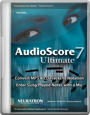 Neuratron AudioScore Ultimate 7 EN