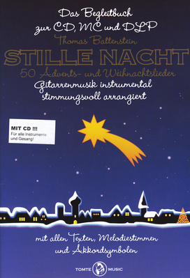 Tomte Music Stille Nacht for Gitarre