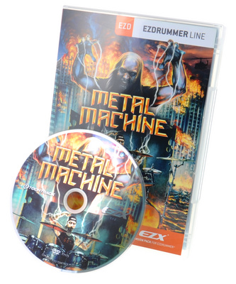Toontrack EZX Metal Machine Expansion