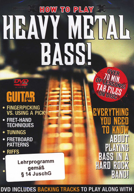 Guitar World Heavy Metal Bass
