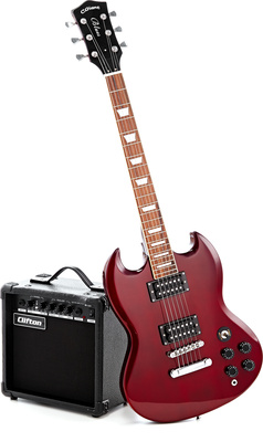 C.Giant SG-Style Electric Guitar Set