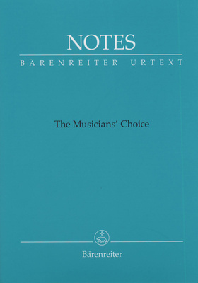 Bärenreiter Notes The Musician's Choice