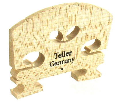 Teller Violin Bridge 4/4 Cut To Size
