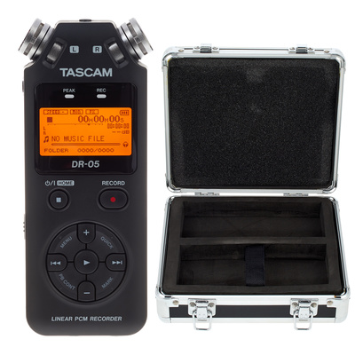 Tascam DR-05 Case Bundle