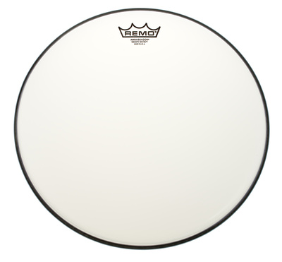 "Remo 14"" Ambassador white smooth"