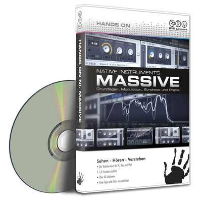 DVD Lernkurs Hands on Massive