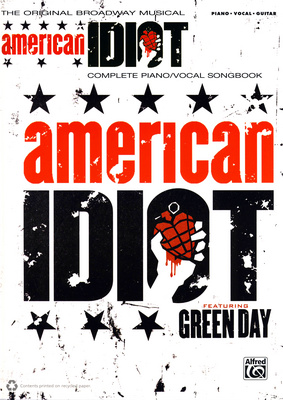 Alfred Music Publishing American Idiot Piano/Voc/Guit