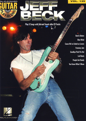 Hal Leonard Guitar Play-Along Jeff Beck