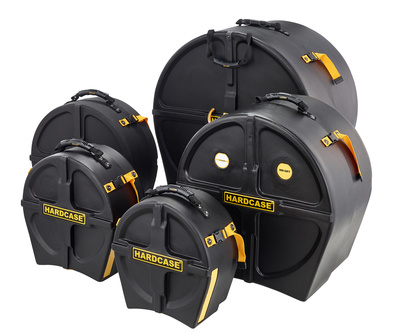 Hardcase Drum Case Set HRockFus4