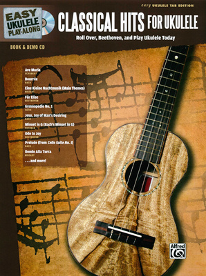 Alfred Music Publishing Classical Hits for Ukulele
